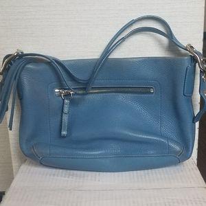 Authentic Coach Blue Handbag